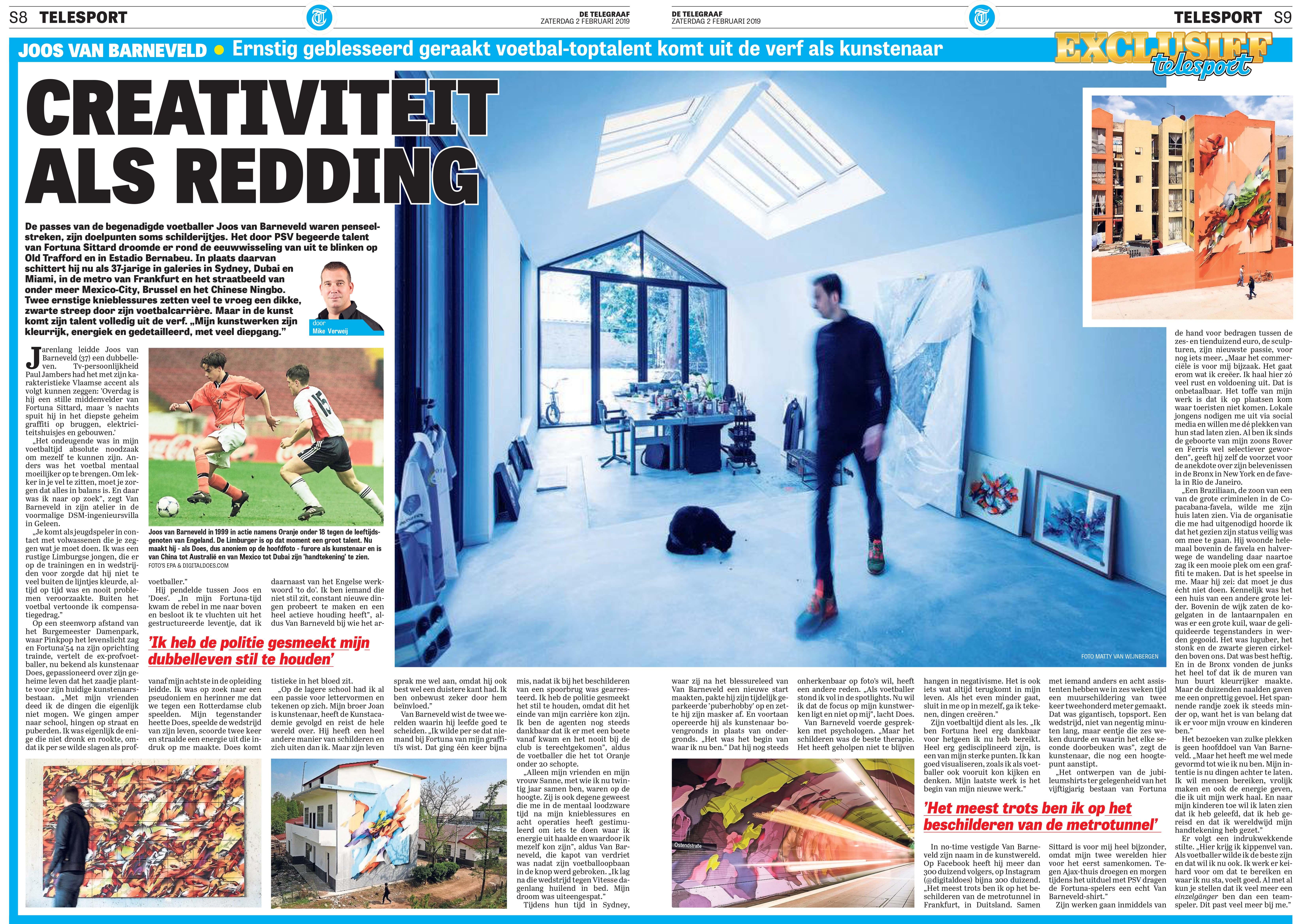A work by Does - Telegraaf#TG#02-02-2019#NL#1#Sport.8#2#cci